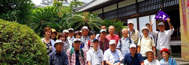 平成28年6月11日 浜松・静岡クラブ合同ウオーキング in 掛川開催