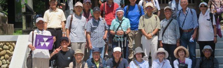 平成30年6月9日 春季合同ウオーキング開催