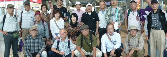 平成28年9月24日 静岡・浜松クラブ合同ウオーキング in 清水開催